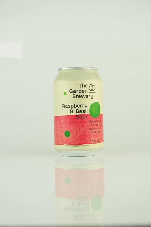 The Garden - Raspberry & Basil Sour