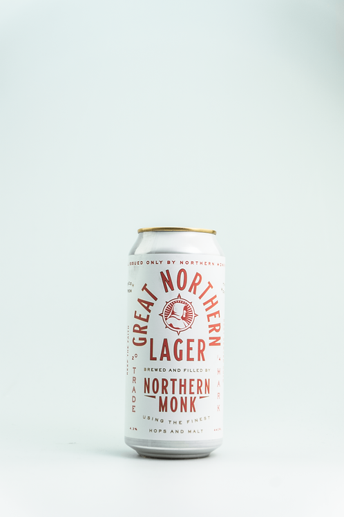 Northern Monk Great Northern Lager MHD 16.12.20