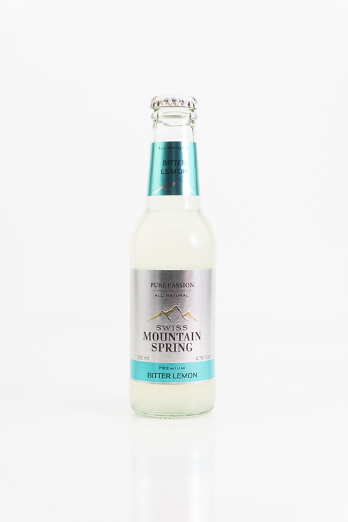 Swiss Mountain Spring -  Bitter Lemon 0,2l