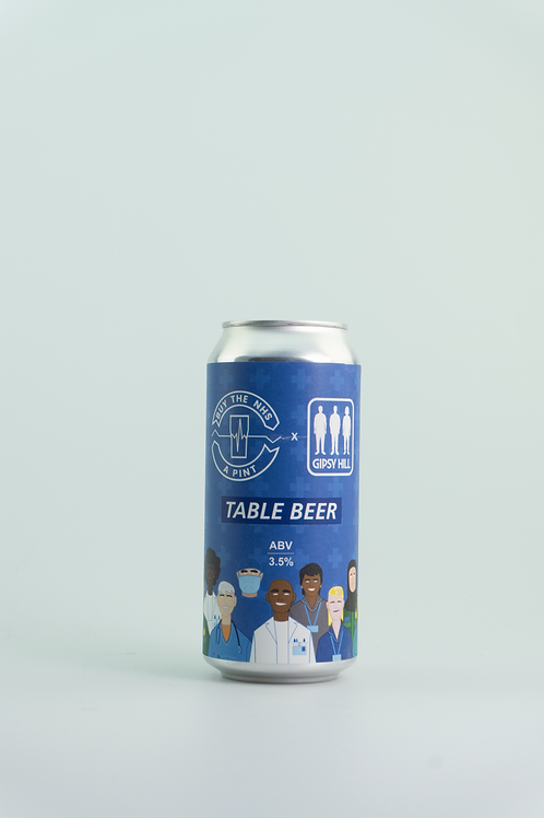 Gipsy Hill - NHS Table Beer (MHD 22.01.21)