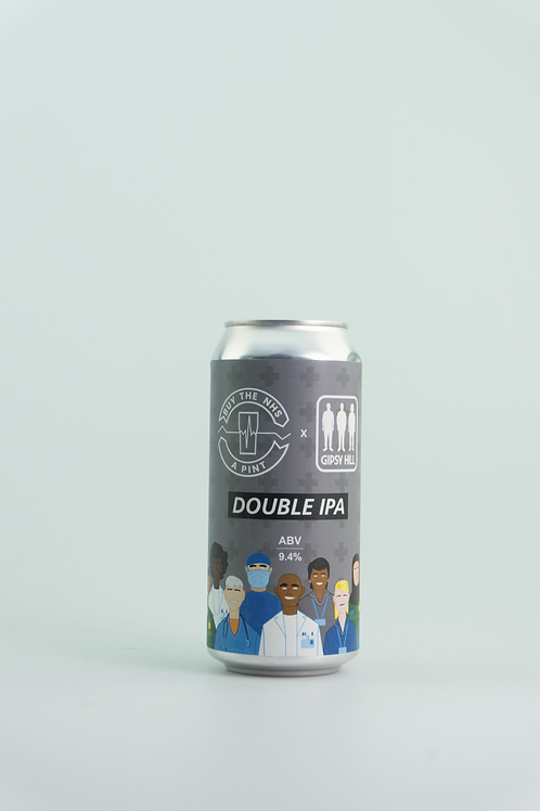Gipsy Hill - NHS Double IPA (MHD 25.01.21)