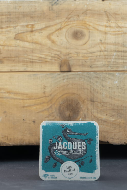 "Braukollektiv Bierdeckel ""Jaques""(25 Stück)"