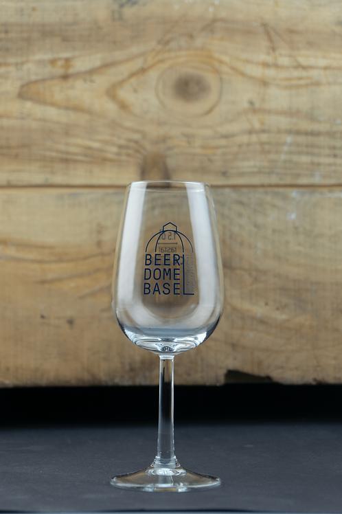 """Bierlager """"Beer Dome Basel"""" Degustationsglas 0,15l"""