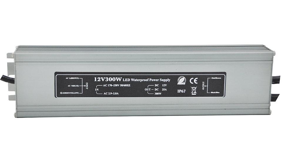Блок питания IP 67 12 Вольт - 300 Вт