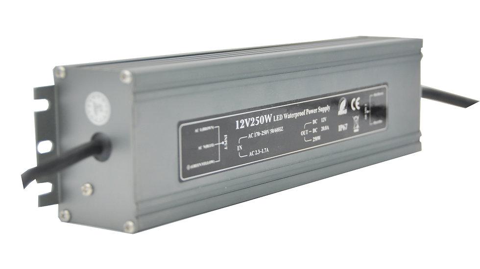 Блок питания IP 67 12 Вольт - 250 Вт
