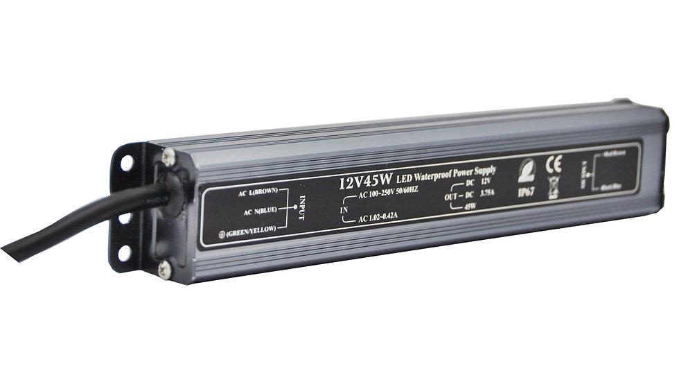 Блок питания IP 67 12 Вольт - 45 Вт