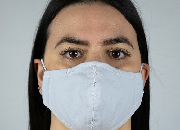 Light Grey - Non-Medical Facemask with Filter