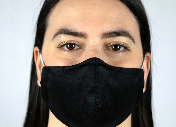 Silk - Black - Non-Medical Facemask with Filter