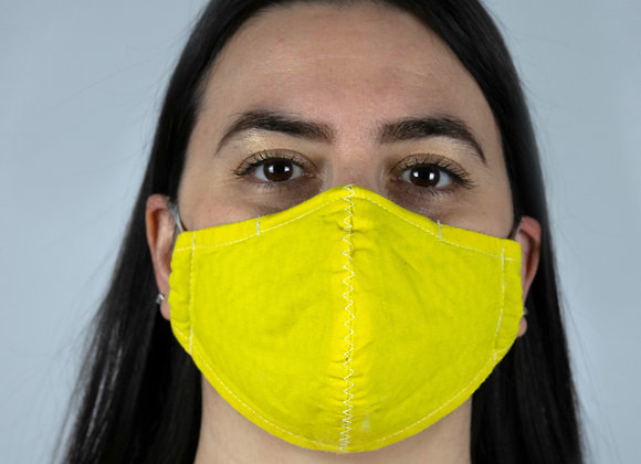 Yellow - Non-Medical Facemask with Filter