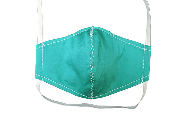 Teal - Non-Medical Facemask with Filter