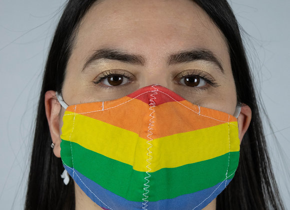 Rainbow - Non-Medical Facemask with Filter