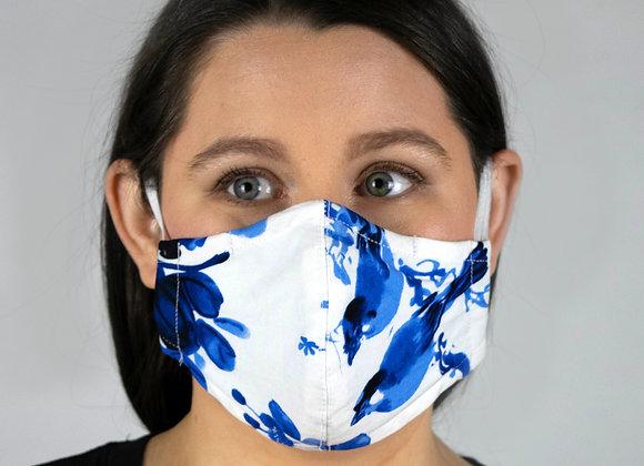 Blue Birds - Non-Medical Facemask with Filter