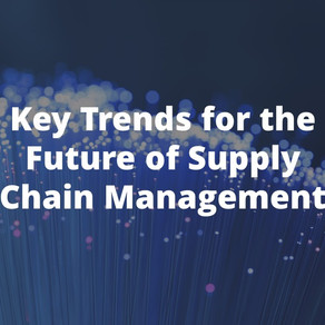 Key Trends in Supply Chain Management (Infographic)