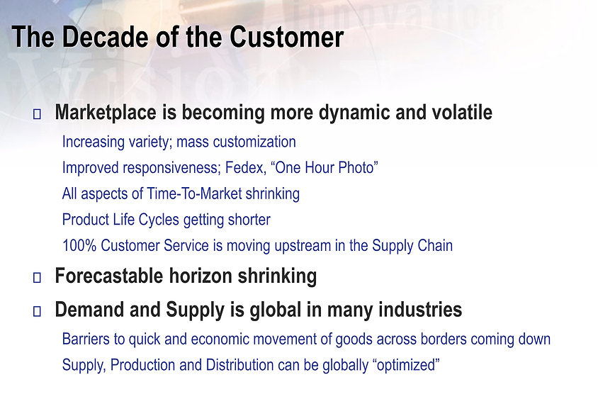 Decade of the customer, Ken Sharma