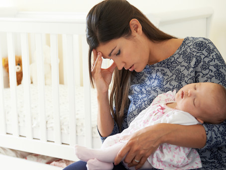 Postpartum Depression: How to get help or help someone who is suffering
