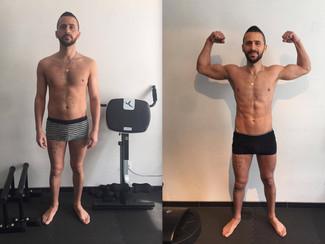 Sur Louvain-La-Neuve, Andreas obtient un look fitness en un temps record  !!