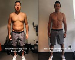 Juan retrouve la forme en 16 semaines !