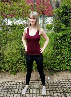 Du punch, du fitness, de la motivation, Laura est au top de sa forme !
