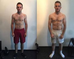 7 kg de muscle en 12 semaines :  transformation  impressionante de Christopher !