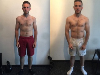 7 kg de muscle en 12 semaines :  transformation  impressionante de Christopher !