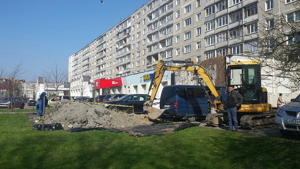 Мини экскаватор Калининград