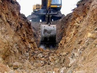 Аренда,услуги мини экскаватора в Калининграде