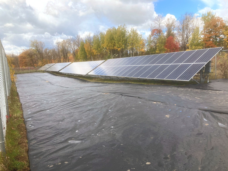 Solar Seeding In Progress