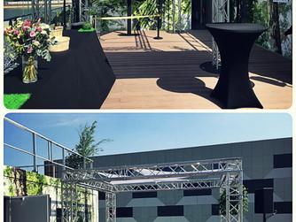 Inauguration du centre de tri du Syctom de Saint Ouen avec l'agence Les Jardins de la Cité