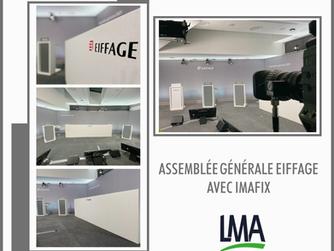 Prestation pour l'agence IMAFIX - Assemblée Générale EIFFAGE