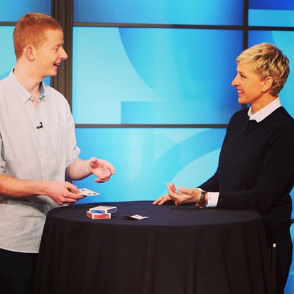 Andrew & Ellen DeGeneres