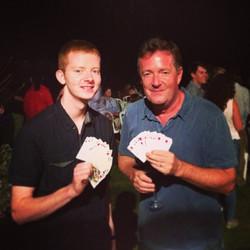 Andrew & Piers Morgan
