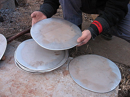 Iron artist Satoru Ozaki made us Iron Plates