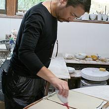 "Chef Tsushimi makes dishes himself in ""SETO"""