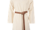 Long Sleeve Medieval Tunic - Ecru