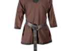 Basic Medieval Tunic - Brown with Black