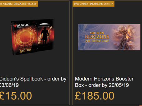 Pre-Order Offers!
