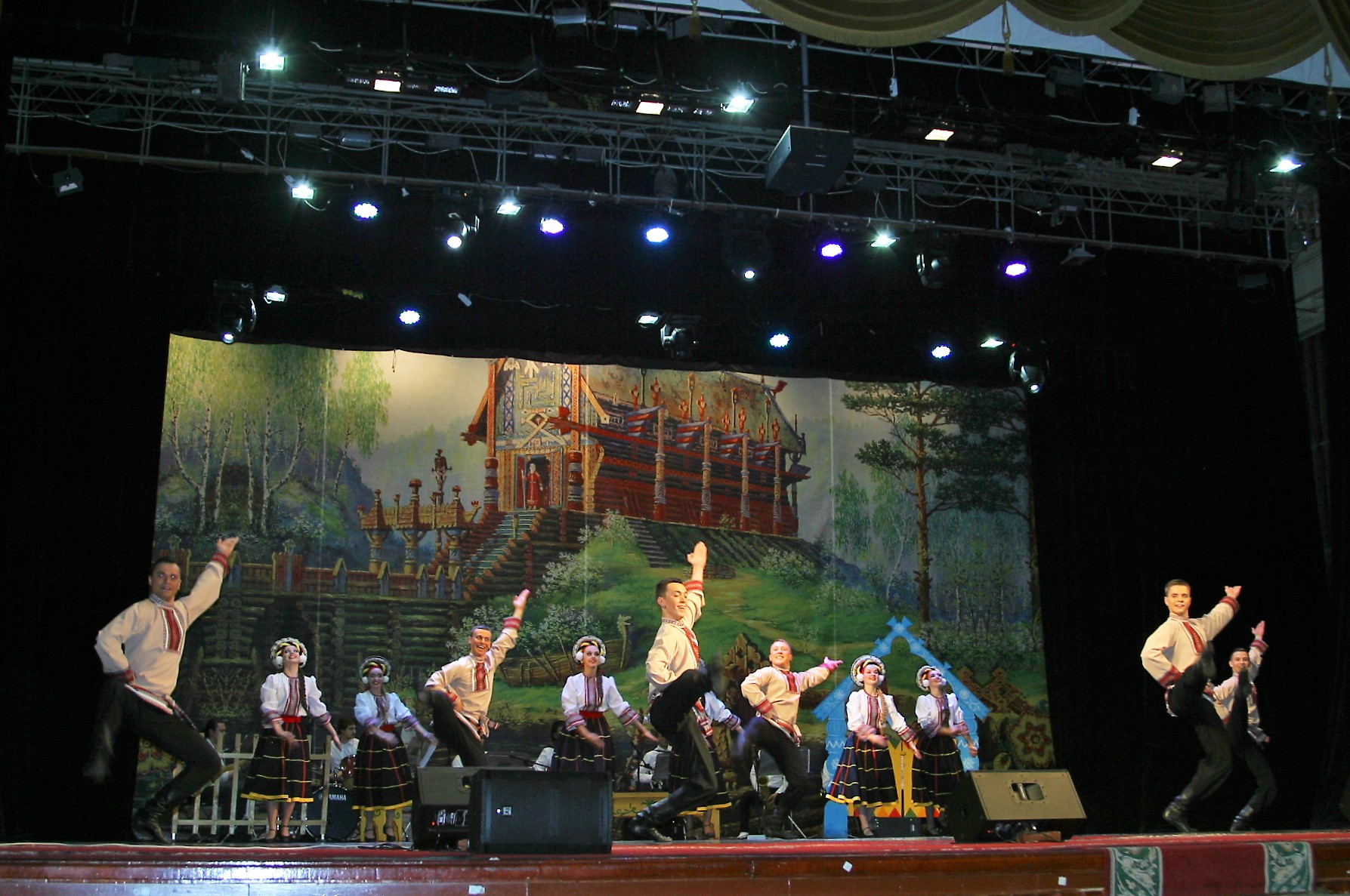Folk dance and song