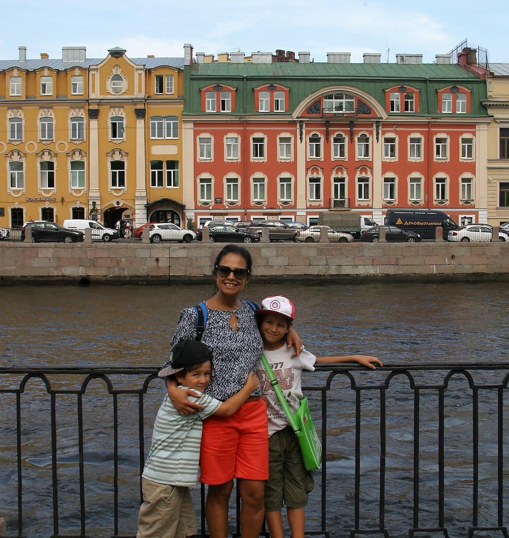 Along the banks of the Fontanka