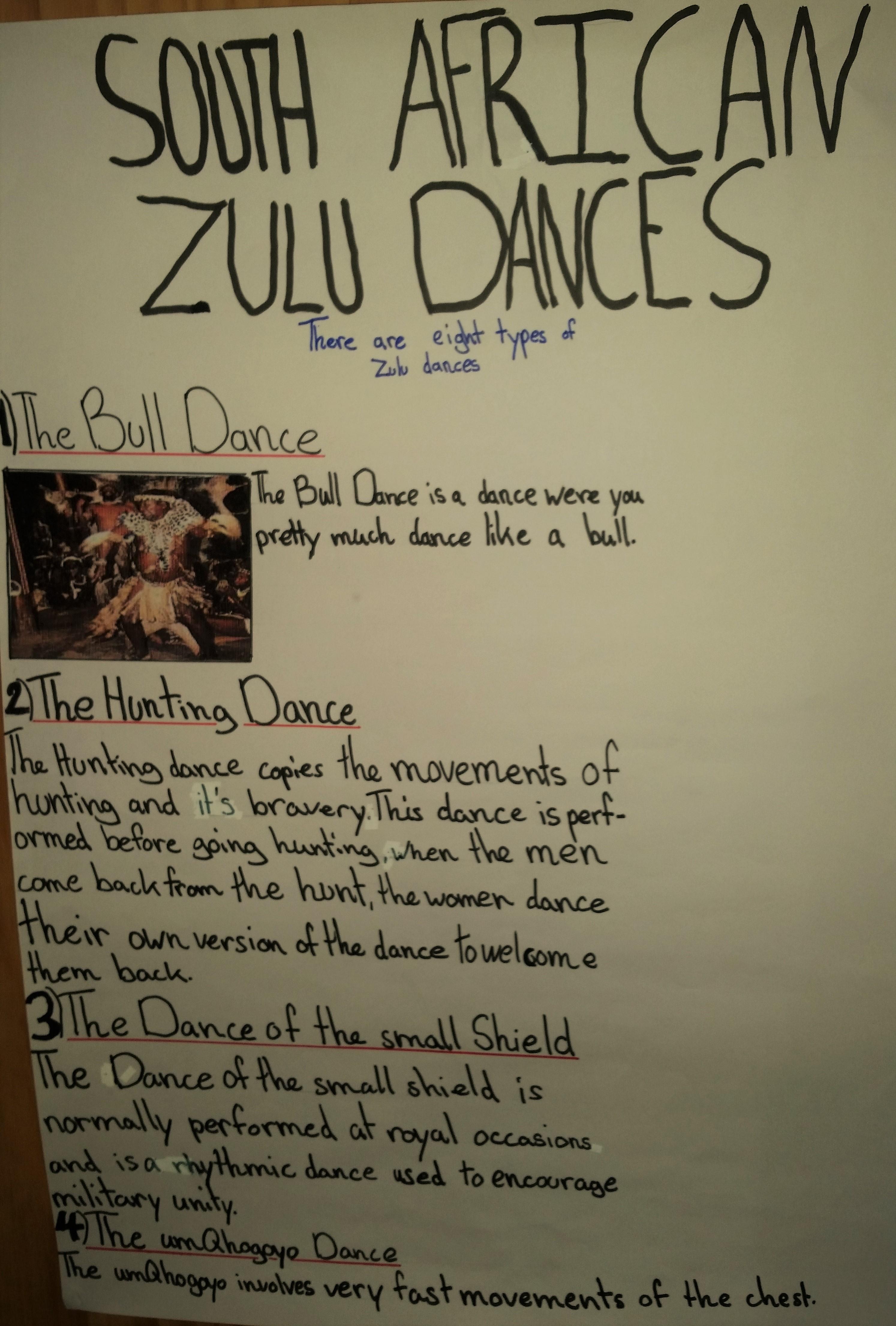 Zulu Dances