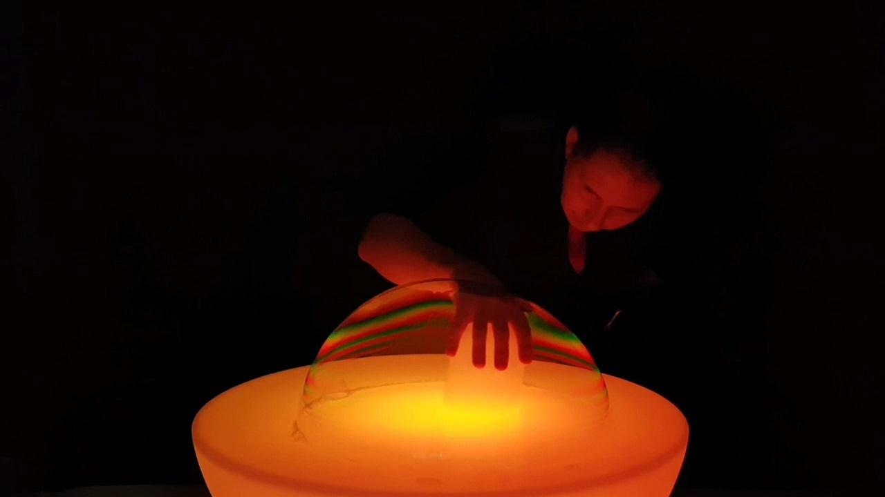 Spectacle bulles de savon