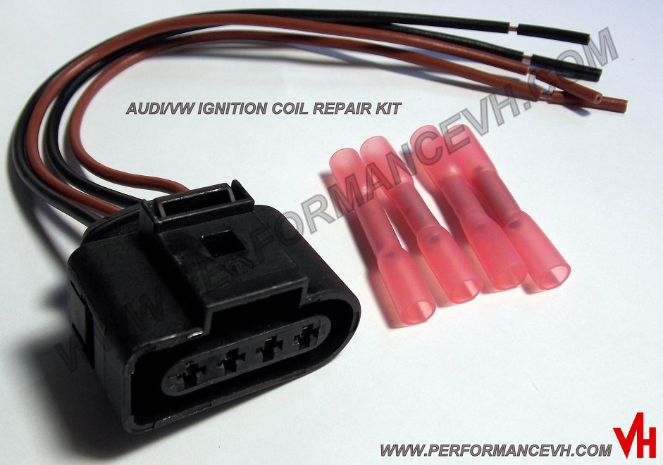 Audi Ignition Coil Pack Connector Pigtail Repair | performancevh