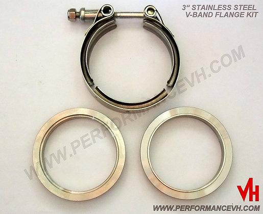 """3"""" Stainless Steel V-Band Kit"""