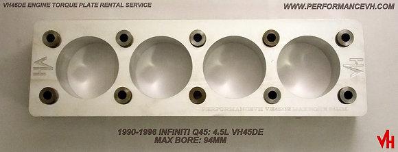 VH45DE Torque Plate Rental