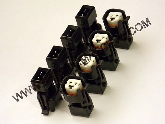 EV1 TO EV6 Chevy Ford Dodge Fuel Injector Adapters