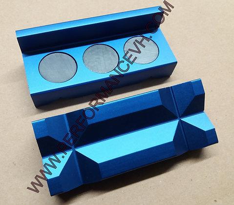 Magnetic Aluminium Vise Tool Jaw Clamp Insert Pad