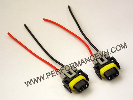 2 Pieces H11 / H8 / H9 Wiring Harness Socket Plug