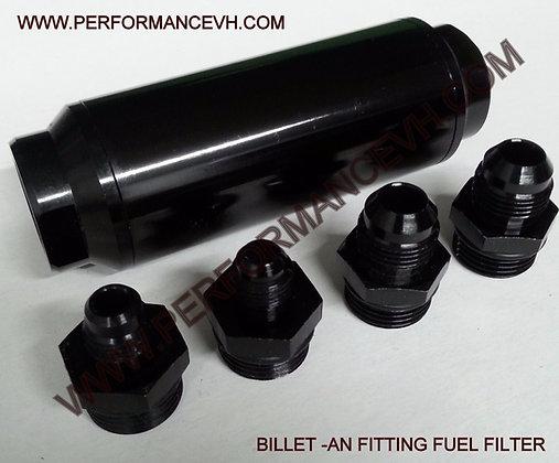 40 Micron AN Fuel Filter -6AN -8AN 6 AN 8 AN