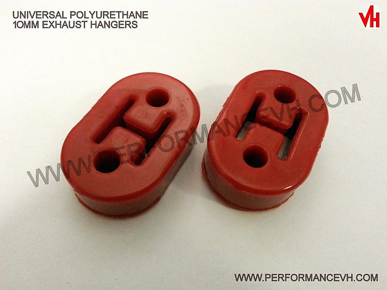 2PC. Polyurethane Exhaust Mount Kit