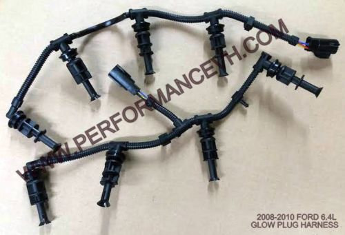 6.4L Ford Powerstroke Diesel Right & Left Glow Plug Harnesses