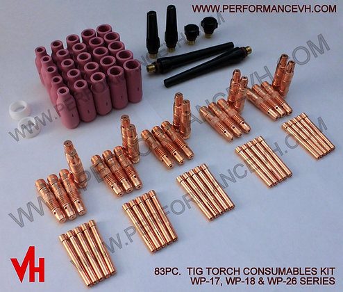 Tig Torch 17 18 26 Series Consumables Kit